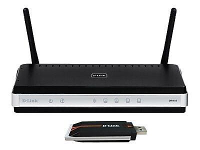 D-Link ® DKT-408 Wireless N USB Network Starter Kit for DSL Modem