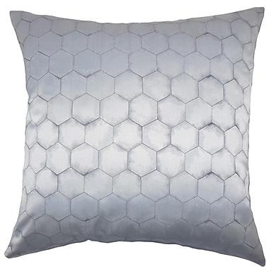The Pillow Collection Valmai Geometric Throw Pillow Cover