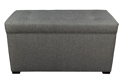 MJLFurniture Angela Sand Storage Trunk Bench; Sand