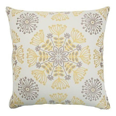 The Pillow Collection Jamesie Floral Throw Pillow Cover; Multi