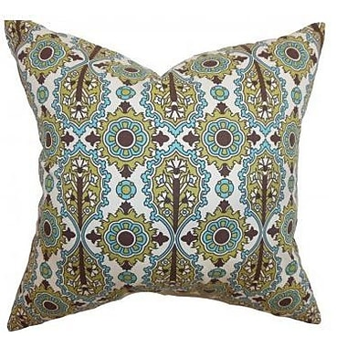 The Pillow Collection Yelimane Geometric Cotton Throw Pillow Cover