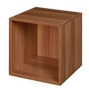 Regency Niche Cubo Stackable Storage Cube - Warm Cherry
