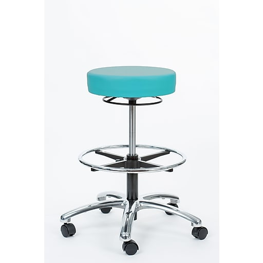 "Brandt Industries 21.75"" Aqua Pneumatic Stool  (17421RR-FR Aqua)"