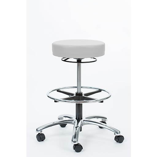 "Brandt Industries 21.75"" Ivory Pneumatic Stool  (17421RR-FR Ivor)"