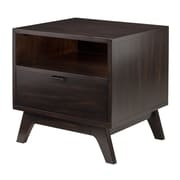 Winsome Monty Side Table, Smoke Finish, (23118)