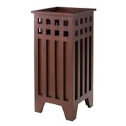 Winsome Aria Umbrella Stand, Walnut Finish, (94110)