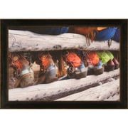 Ashton Wall D cor LLC Boots and Spurs Framed Photographic Print