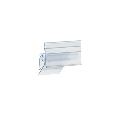Kostklip® ClearVision® Adjustable Angle Small Clip Label Holder, 1.25