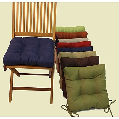 Blazing Needles Outdoor Adirondack Chair Cushion (Set of 4); Farmington Terrace Grenadine