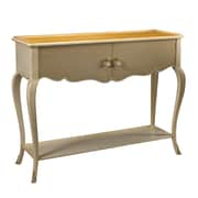 French Heritage Parc Saint-Germain Cabinet; Beige / Sunbleached Cherry