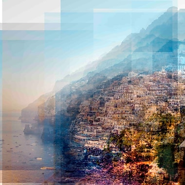 Marmont Hill 'Positano 2' by Chris Albert Painting Print on Wrapped Canvas; 48'' H x 48'' W