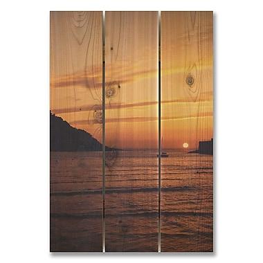 Gizaun Art 3 Piece Sailer's Sunset Photographic Print Set