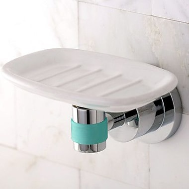 Kingston Brass Green Eden Soap Dish; Polished Chrome
