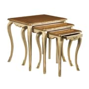 French Heritage Parc Saint-Germain 3 Piece Nesting Tables