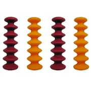 Epicureanist Flexible Wine Bottle Stoppers (Set of 4)