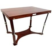 Spiderlegs Picnic Folding Dining Table; Mahogany