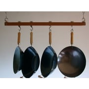 Taylor & Ng Track Rack Ceiling Pot Rack; Burnished Bamboo