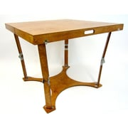 Spiderlegs Puzzle Folding Bar Table; Warm Oak