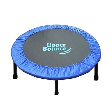 Upper Bounce Two-Way Foldable Rebounder 40'' Trampoline w/ Carry-on Bag