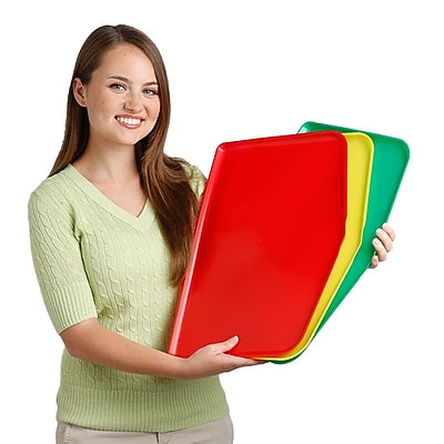Argee Chop Keeper Chopping Tray w/ Raised Sides (Set of 3); Red / Yellow / Green