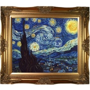 Tori Home Starry Night by Vincent Van Gogh Painting Print on Canvas