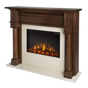 Real Flame Berkeley Electric Fireplace; Chestnut Oak