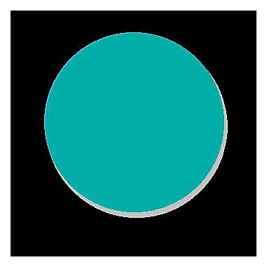 DecaltheWalls A Real Friend Wall Decal; Turquoise