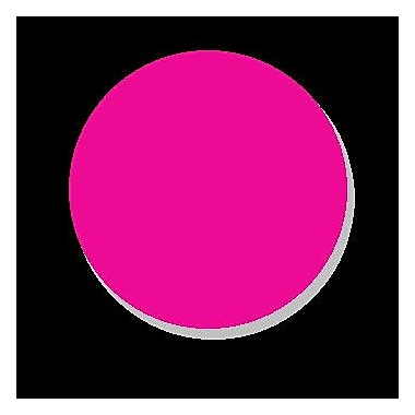 DecaltheWalls Being Together Wall Decal; Hot Pink