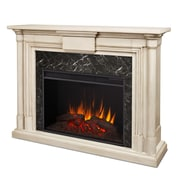 Real Flame Maxwell Grand 58'' TV Stand w/ Fireplace