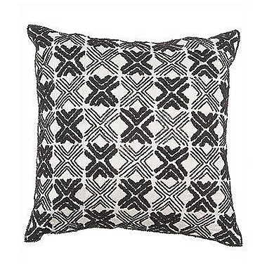Arcadia Home Embroidered Throw Pillow
