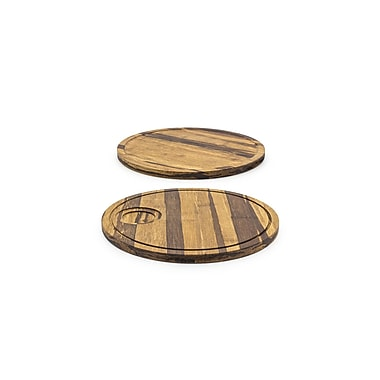 Front Of The House Crushed Serving Board; 12'' Round