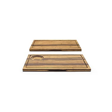 Front Of The House Crushed Serving Board; 14'' X 9''