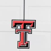 HensonMetalWorks University Collegiate Color Logo Door Hanger; Texas Tech
