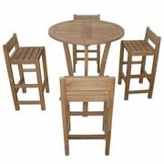 Anderson Teak Descanso Sedona 5 Piece Dining Set