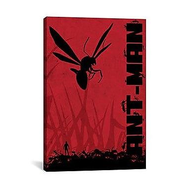 iCanvas Marvel Comics Ant-Man Graphic Art on Canvas; 18'' H x 12'' W x 1.5'' D