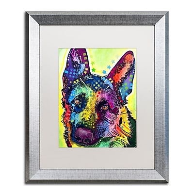 Trademark Fine Art ''German Shepherd'' by Dean Russo 16