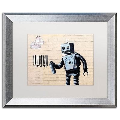 Trademark Fine Art ''Robot'' by Banksy 16