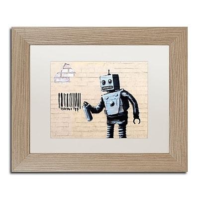 Trademark Fine Art ''Robot'' by Banksy 11