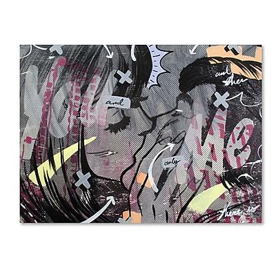 Trademark Fine Art ''And Only'' by Dan Monteavaro 18