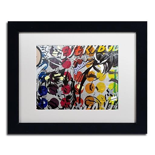 "Trademark Fine Art ''Everybody Wants'' by Dan Monteavaro 11"" x 14"" White Matted Black Frame (ALI0952-B1114MF)"