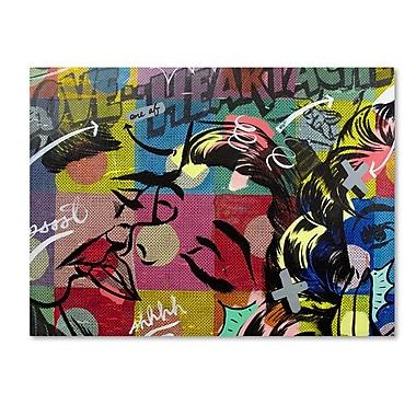 Trademark Fine Art ''Fearless Heartache'' by Dan Monteavaro 24