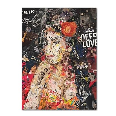 Trademark Fine Art ''Amy'' by Ines Kouidis 14