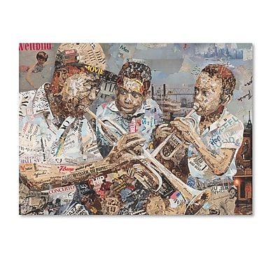 Trademark Fine Art ''Blues Boys'' by Ines Kouidis 18