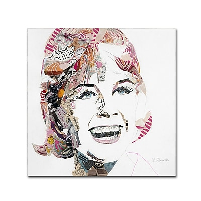 Trademark Fine Art ''Doris'' by Ines Kouidis 35