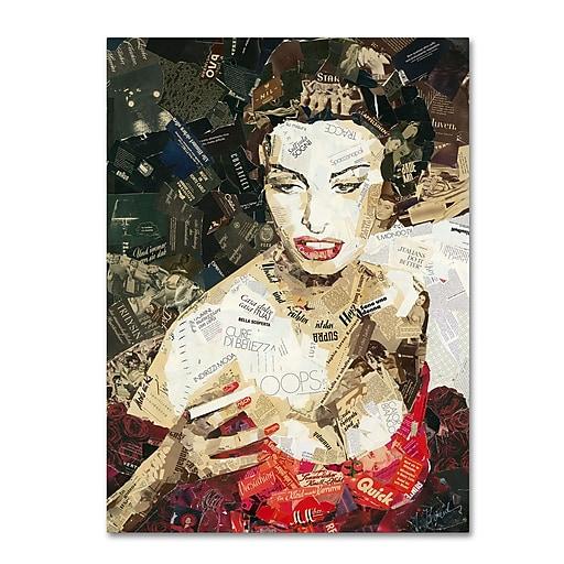 "Trademark Fine Art ''Italians Do it Better'' by Ines Kouidis 24"" x 32"" Canvas Art (ALI0989-C2432GG)"