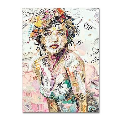 Trademark Fine Art ''Glam & Glory'' by Ines Kouidis 35