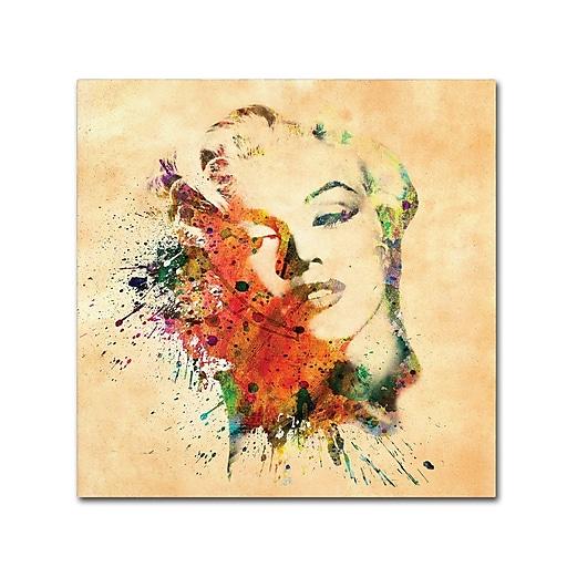 "Trademark Fine Art ''Beloved'' by Mark Ashkenazi 18"" x 18"" Canvas Art (ALI1007-C1818GG)"