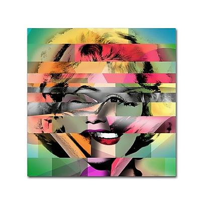 Trademark Fine Art ''Marilyn Monroe V'' by Mark Ashkenazi 24