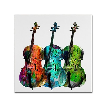 Trademark Fine Art ''Cello'' by Mark Ashkenazi 14