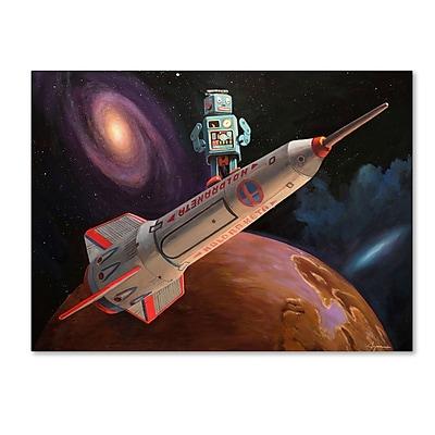 Trademark Fine Art ''Rocket Surfer'' by Eric Joyner 24